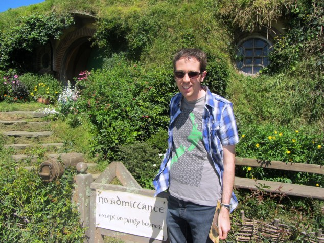 At Hobbiton - January 17th 2014