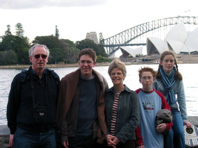 Family holiday in Sydney, 2004