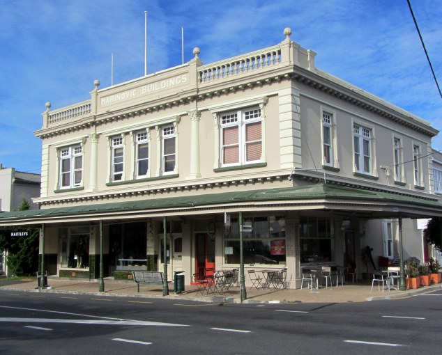 Ravenhill cafe, a former butchery. Building constructed 1912