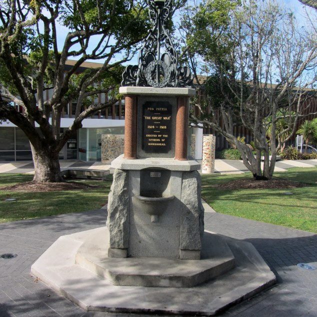 Birkenhead War Memorial, Nell Fisher Reserve