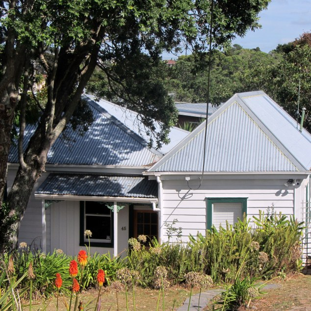 45 Huka Road, two sugar workers cottages joined together