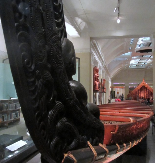 Te Toki ā Tāpiri, the last great war canoe used in battle and carved from a giant totara tree