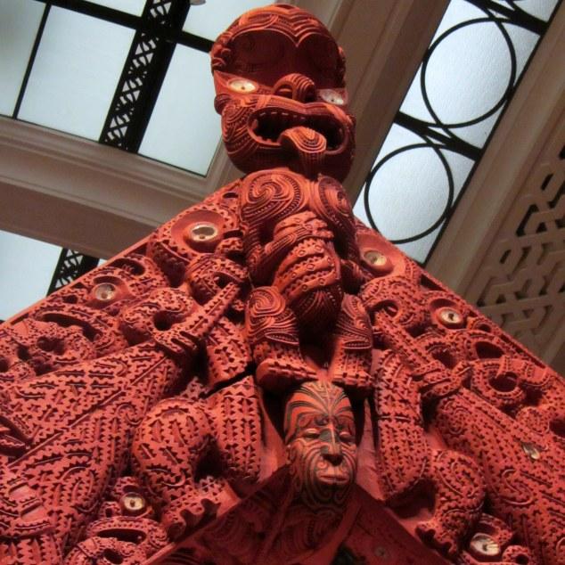 Māori carving, Māori Court