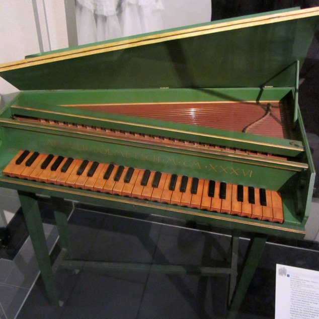 Octave spinet, 1936