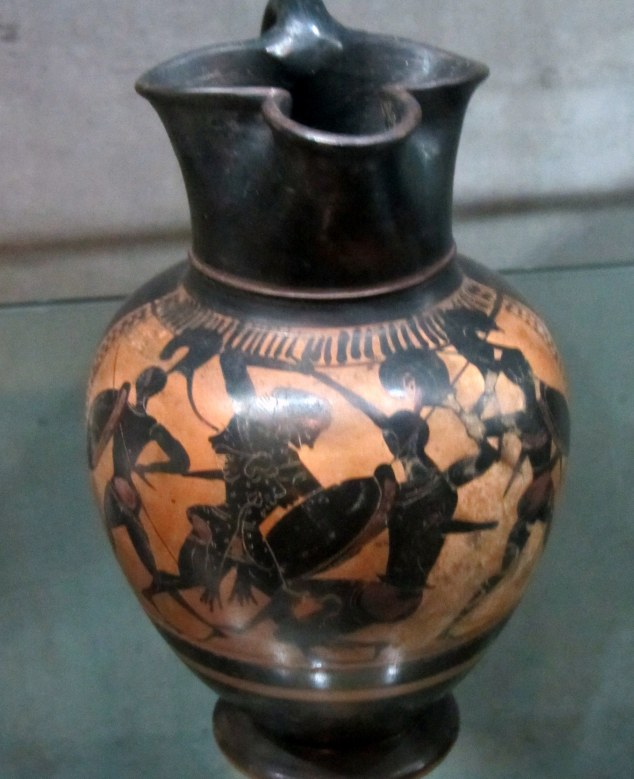 Greek vase, Ancient Worlds collection