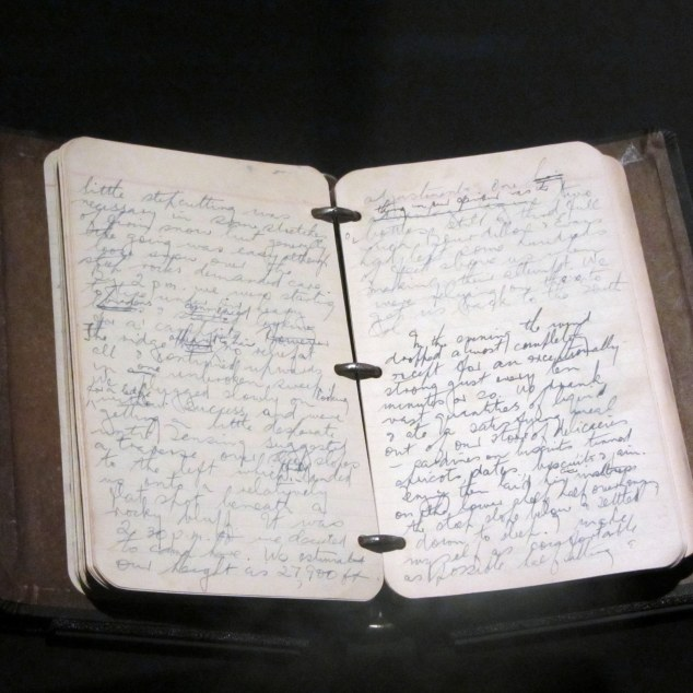 Sir Edmund Hillary's 1953 expedition diary