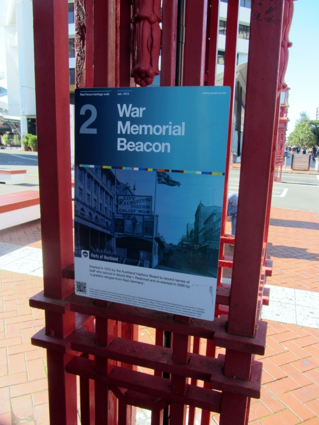The walk is signposted with information boards