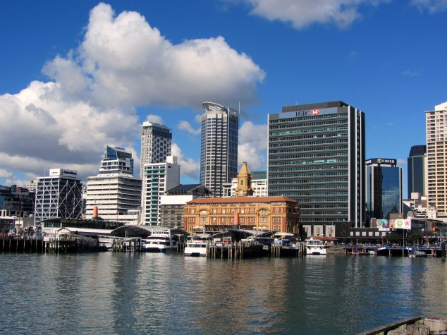 View towards Ferry Building from Princes Wharf