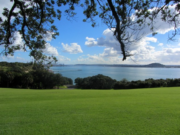 View over Waitemata Harbour
