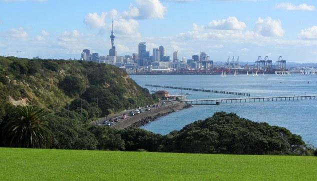 Views over Waitemata Harbour
