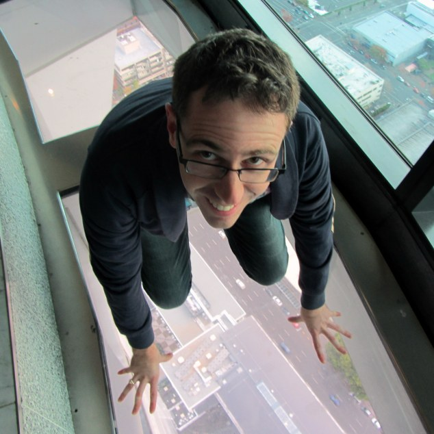 Glass floor panels are 38mm thick