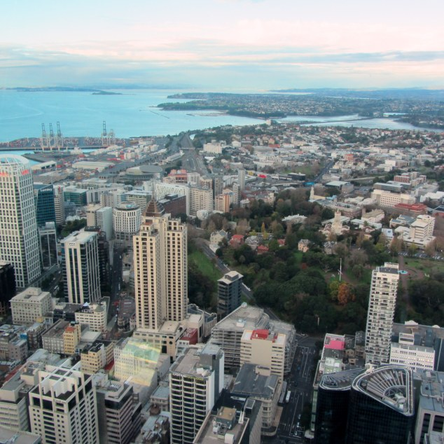 The Sky Tower offers views up to 80 kms in every direction