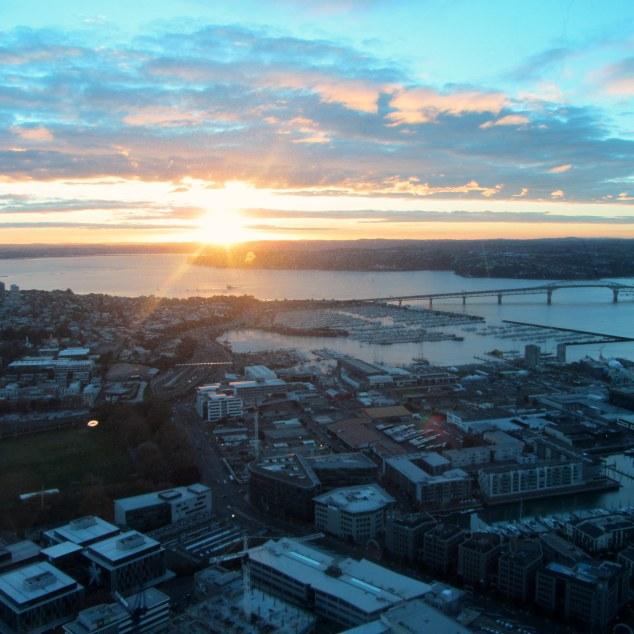 Sun sets on Auckland City