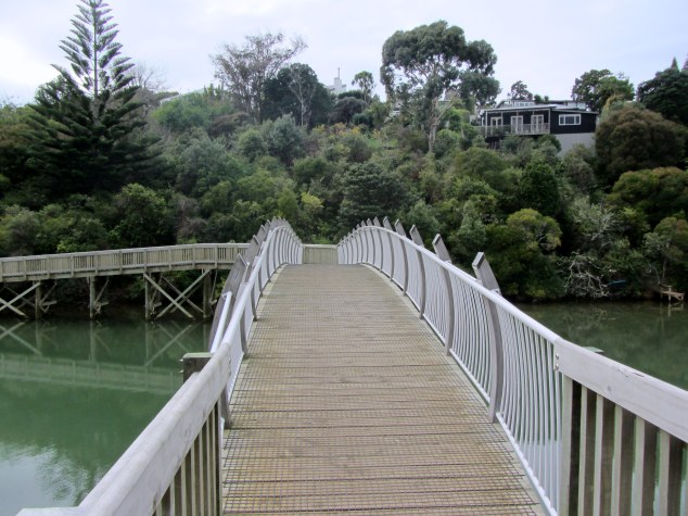 Bridge across Orakei Creek