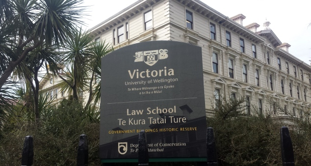 Victoria University of Wellington Law School - Government Buildings Historic Reserve