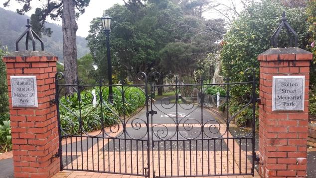 Bolton Street Memorial Park Gates