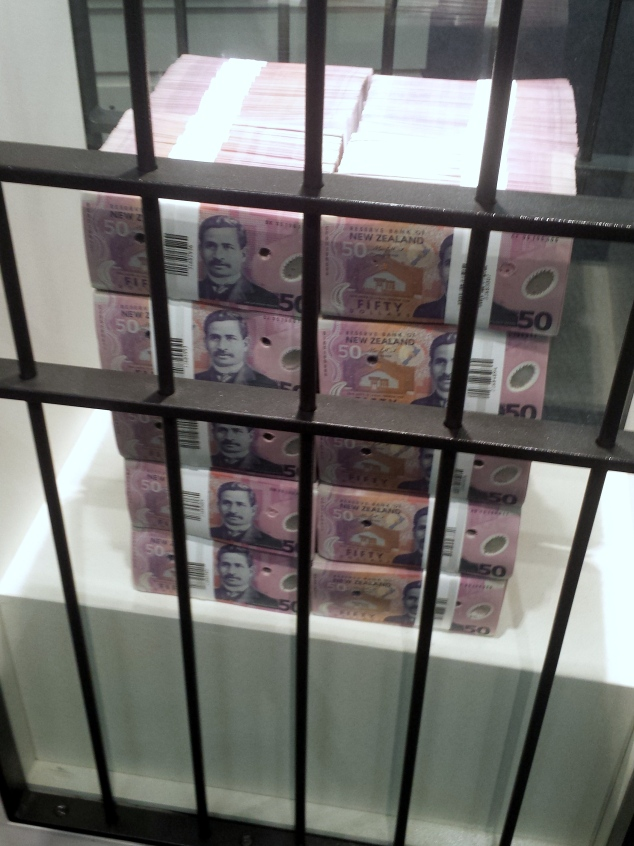 These cancelled bank notes weighs 20kg and had worth 1 milion