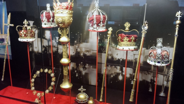 Replica of the Crown Jewels