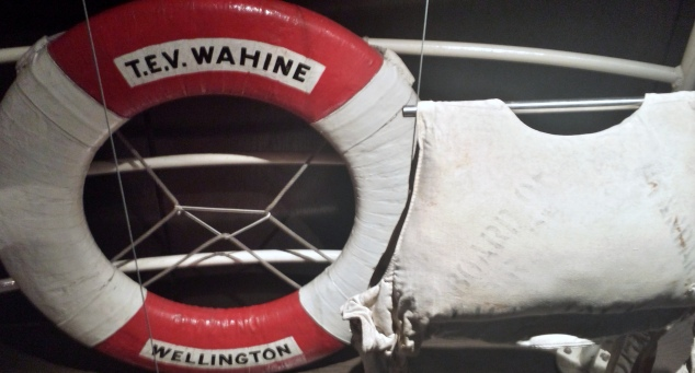 Artefacts recovered following Wahine Disaster
