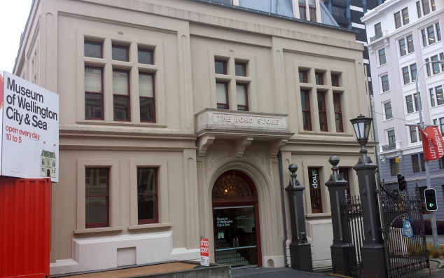 Museum of Wellington City & Sea housed in the historic Bond Store
