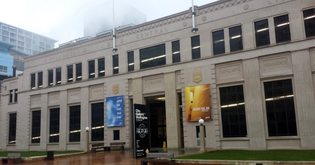 City Gallery Wellington housed in the old Wellington Public Library building