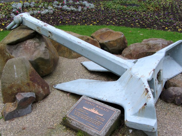 Anchor from HMNZS Waikato