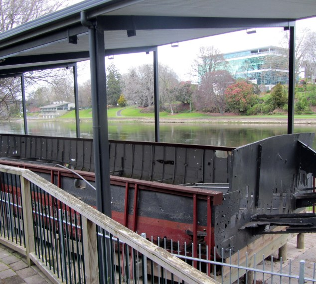 Viewing platform over PS Rangiriri