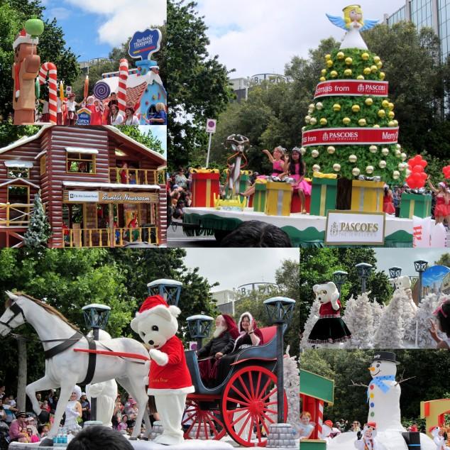 2014 Farmers Santa parade