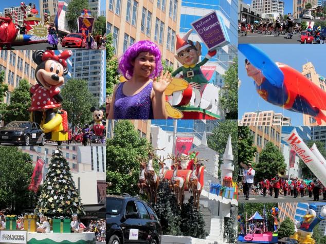 2013 Auckland Farmers Santa Parade