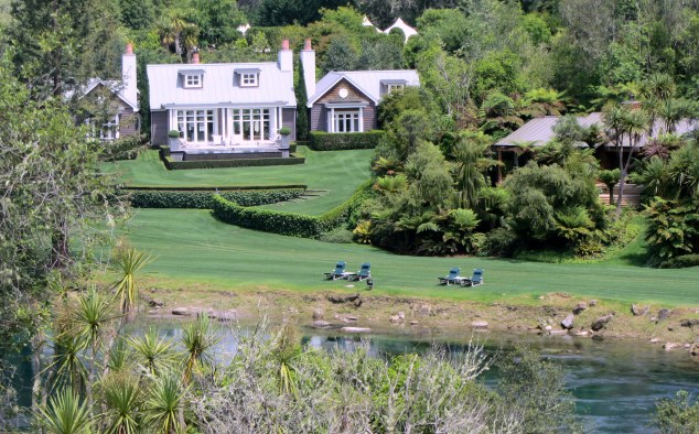 View of Huka Lodge