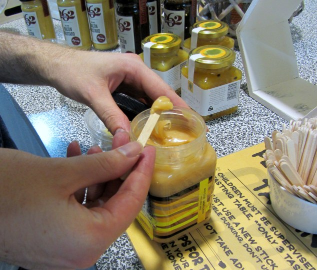 Free honey tasting