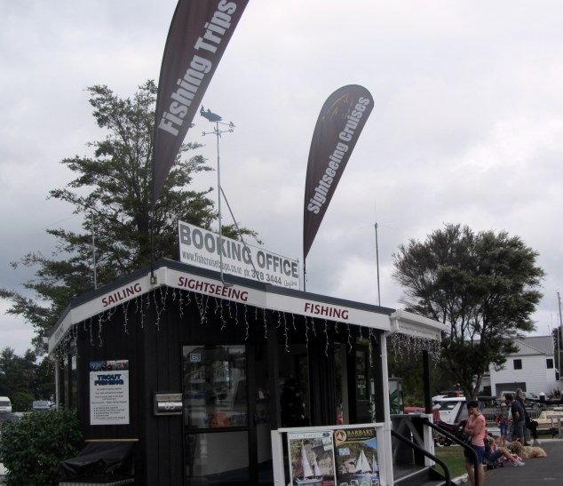 Fish Cruise Taupo booking office