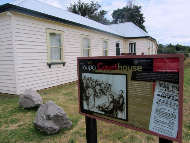 Old Taupo Courthouse