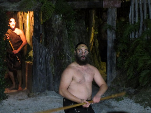 Visitors are welcomed by a Pōwhiri