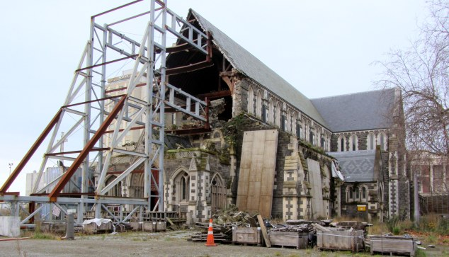 ChristChurch Cathedral ruins, July 2015