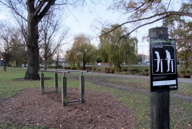 Fitness Track, Hagley Park North