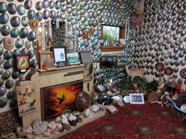 Fred and Myrtle's Paua Shell House