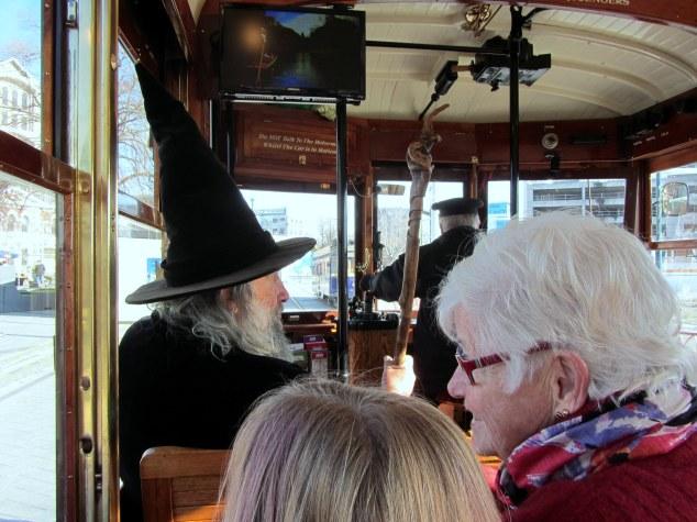 Riding Christchurch Tram