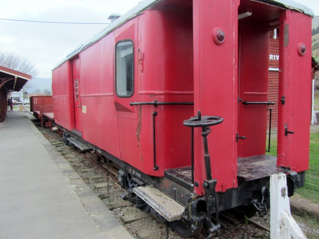Preserved heritage freight wagons