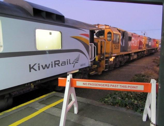 TranzAlpine, Christchurch Railway Station