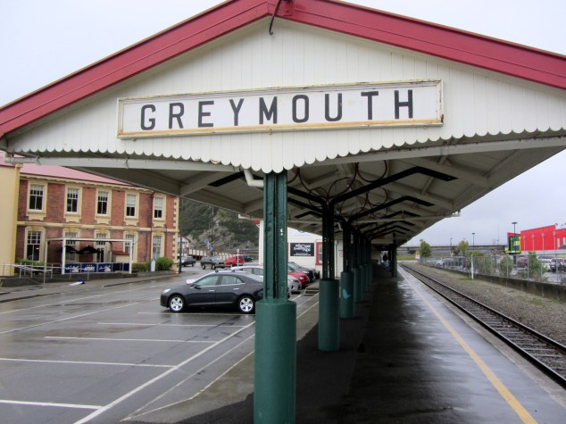 Greymouth Railway Station