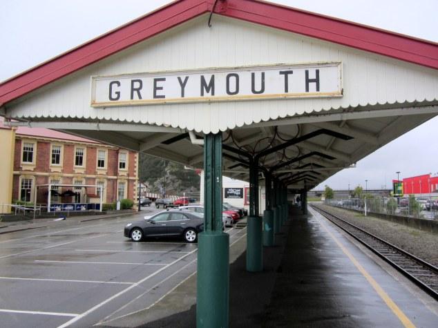Greymouth Railway Station