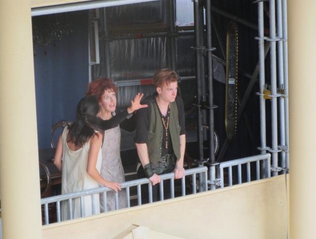 Christel Chapman (Juliet), Carmel McGlone (Nurse), Jonathan Tynan-Moss (Romeo)