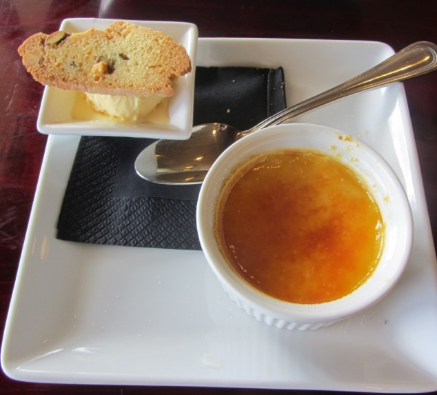 Honey and Lemon Crème Brulee