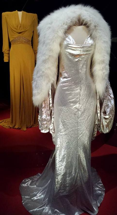 Costumes worn by Gwen Stefani as Jean Harlow and Cate Blanchett as Katherine Hepburn in The Aviator