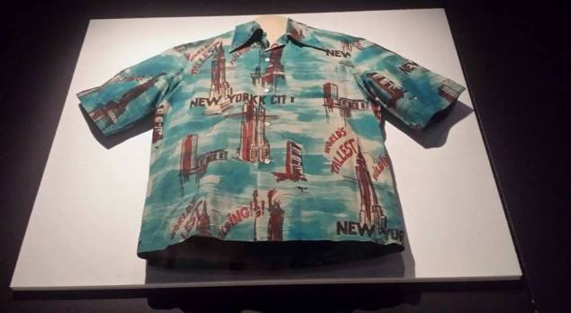 Shirt worn by Robert De Niro is New York, New York