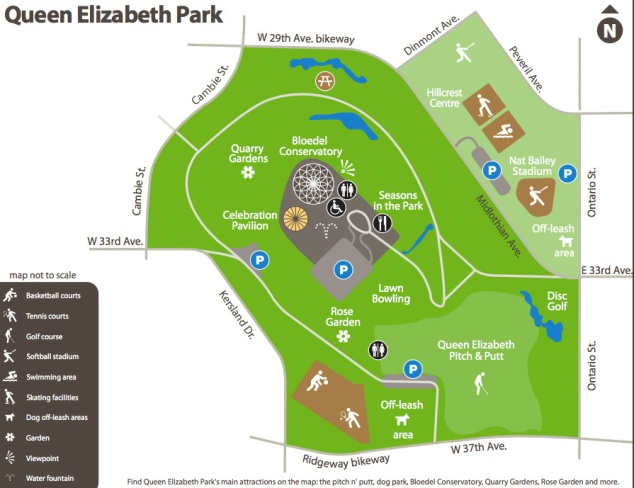 QueenElizabethParkMap